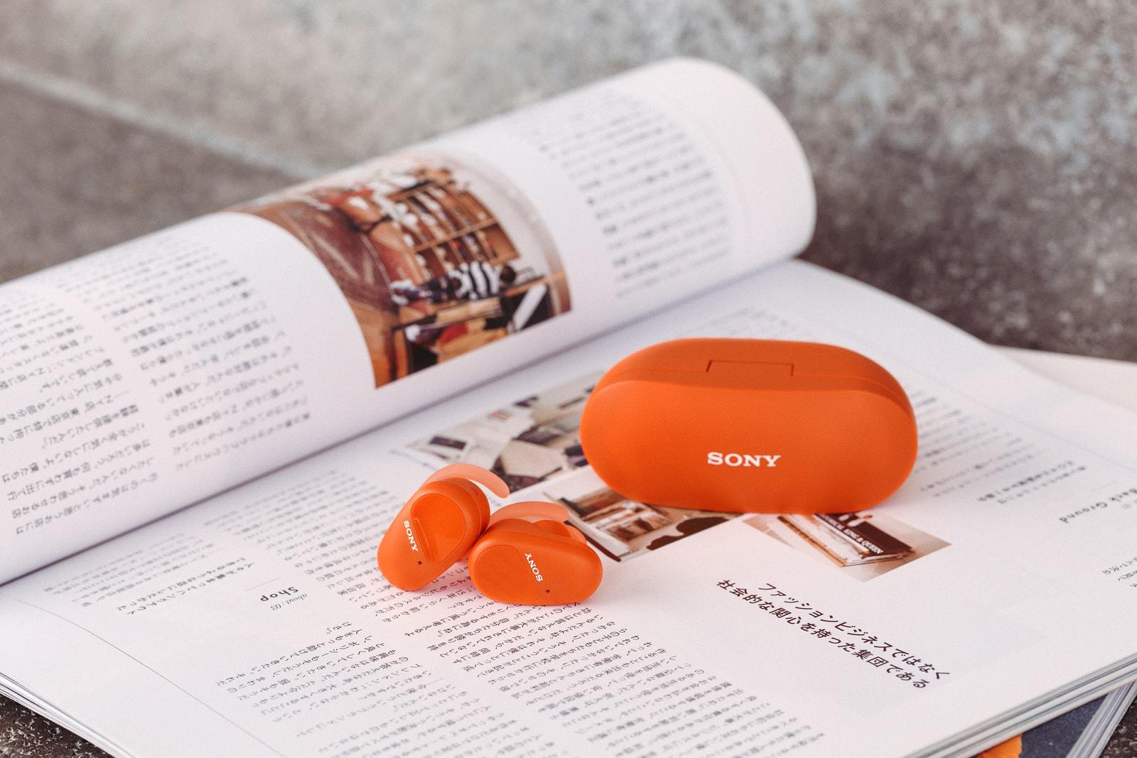 全面升級-Sony 最新 WF-SP800N 運動型無線降噪耳機