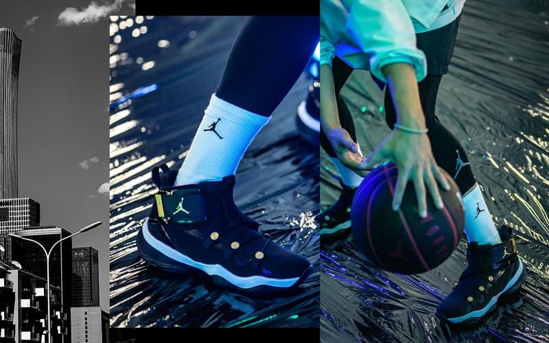 WZK Beijing 為神秘鞋款 Jordan AJNT 23 打造概念特輯