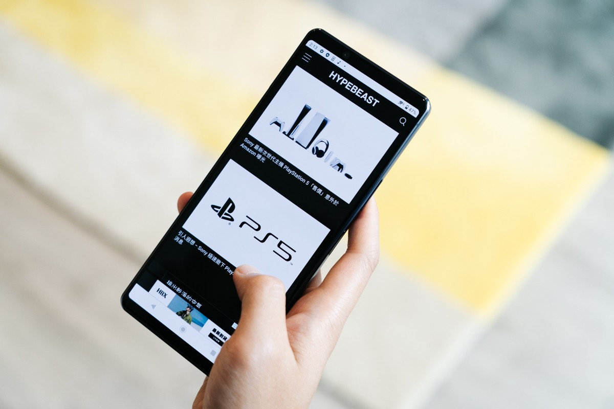 HYPEBEAST 編集部實測 Sony Xperia 1 II 智能手機