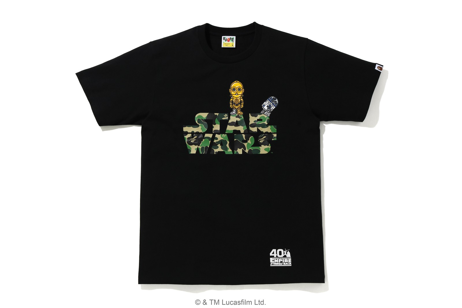 A BATHING APE® 聯乘《Star Wars》推出致賀紀念系列