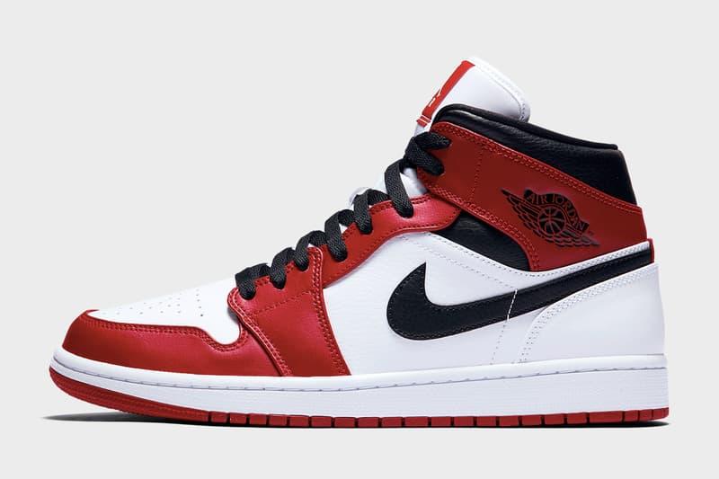 Air Jordan 1 Mid「Chicago」配色官方照片釋出