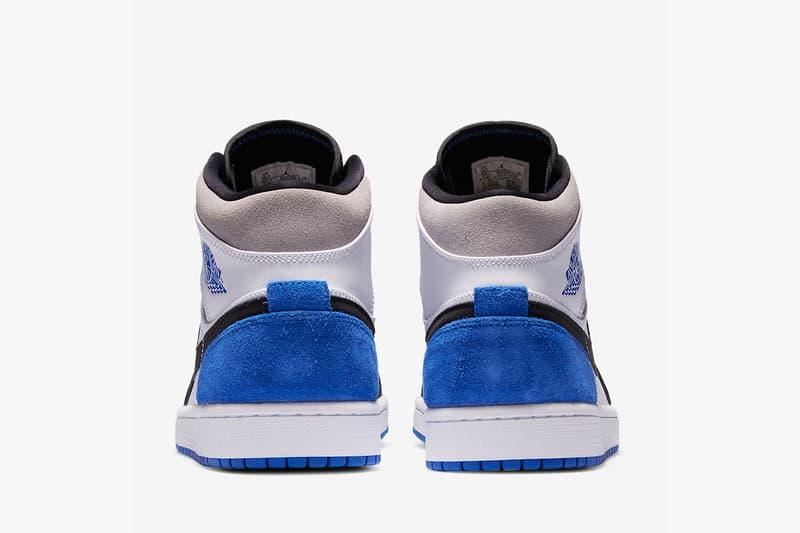 Air Jordan 1 Mid SE 全新「Royal Blue」配色鞋款亮相