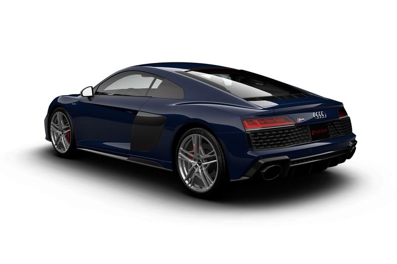 Audi 發表停產前限量入門級 R8 V10 Quattro 別注車款