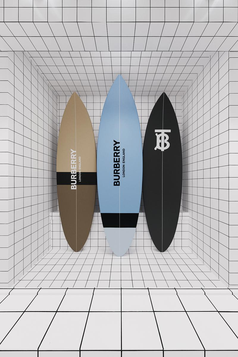 Burberry推出全新TBSummer Monogram及 B Surf 滑浪系列