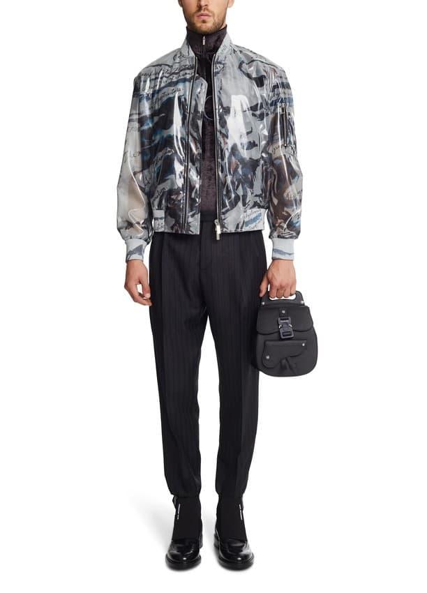 Dior 推出手提式造型後揹牛皮小包