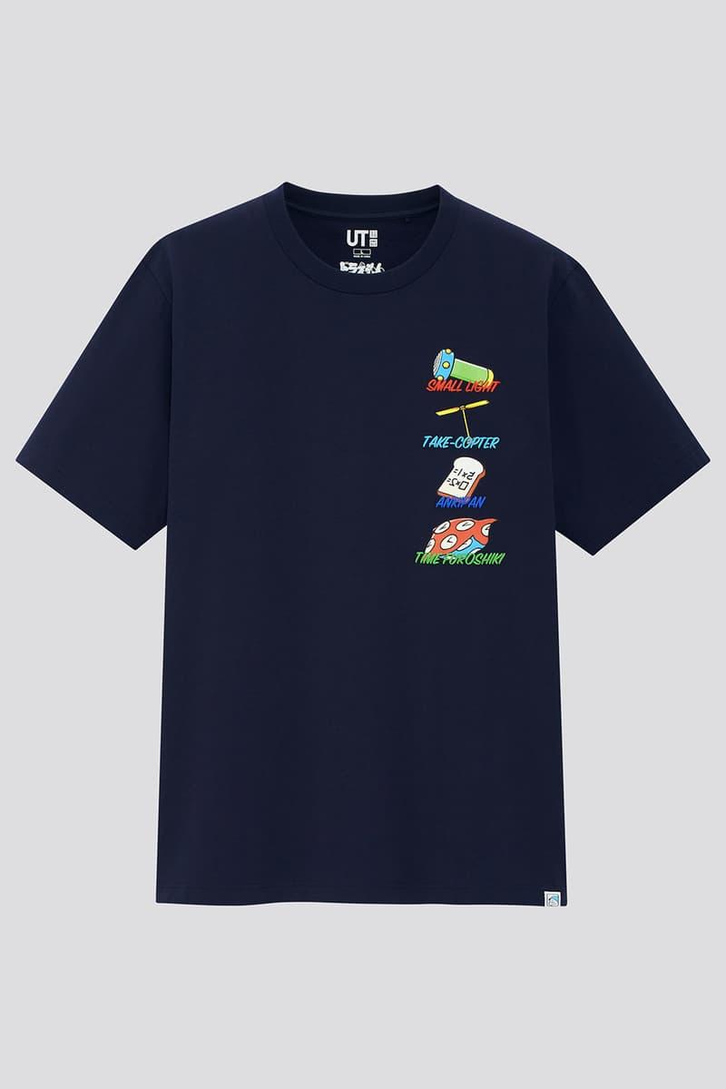 UNIQLO UT x《DORAEMON》50 週年紀念聯名系列台灣發售情報公開
