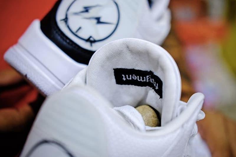 fragment design x Air Jordan 3 全新聯名鞋款上腳圖輯曝光