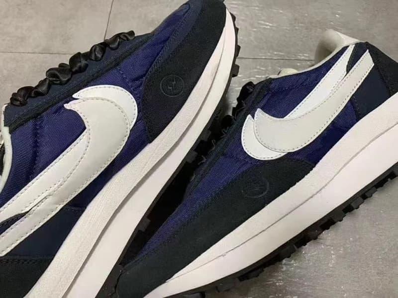 網絡曝光 fragment design x sacai x Nike LDWaffle 聯名鞋款細節圖輯(UPDATE)