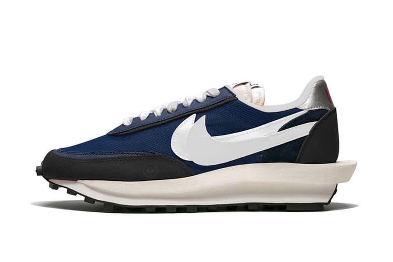 網絡曝光 fragment design x sacai x Nike LDWaffle 聯名鞋款預覽圖