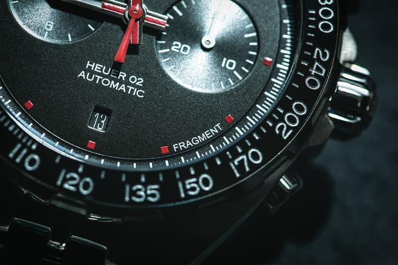 HYPEBEAST 率先近賞 fragment design x TAG Heuer Formula 1 聯乘腕錶