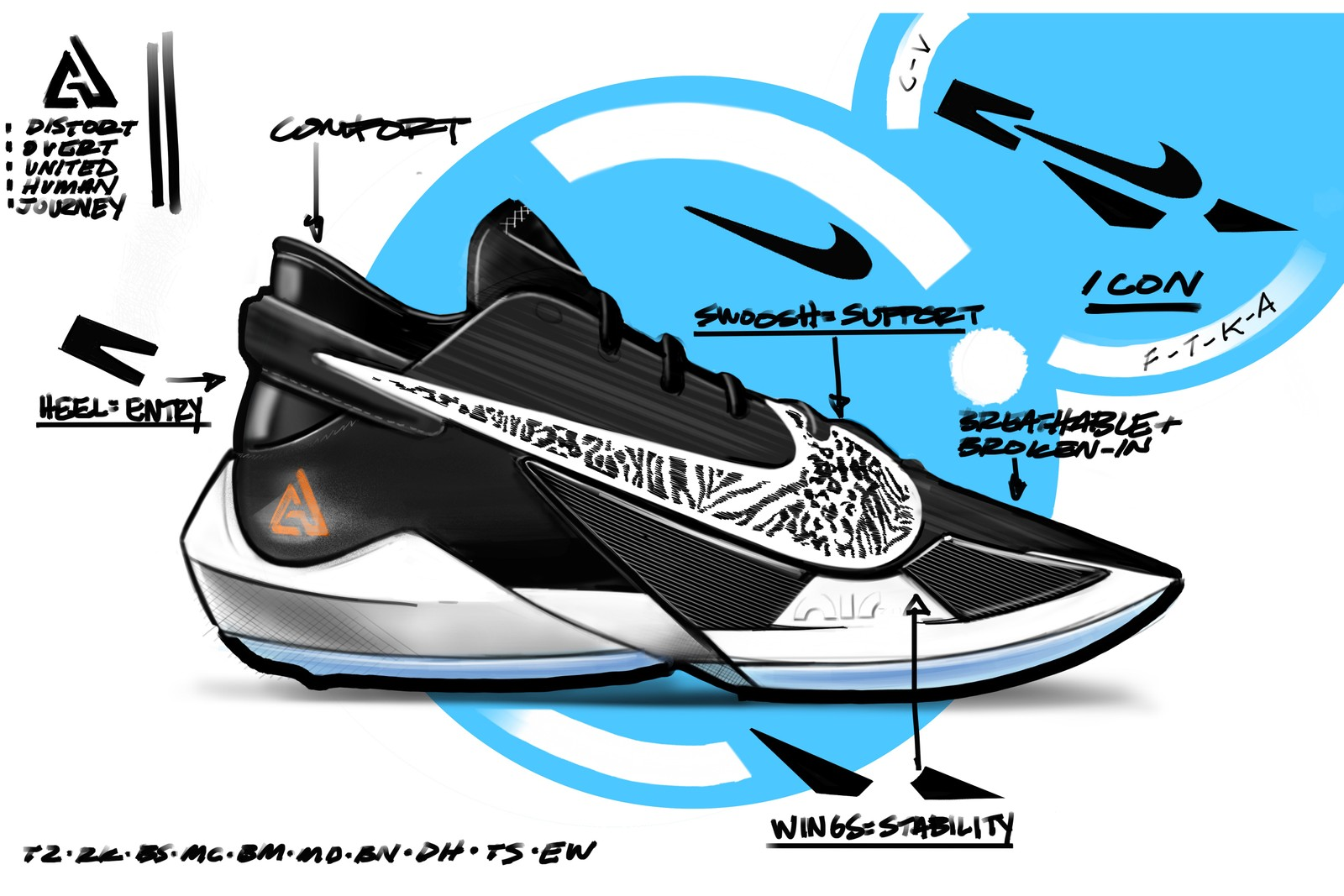 「字母哥」Giannis Antetokounmpo 全新戰鞋 Nike Zoom Freak 2 正式發佈