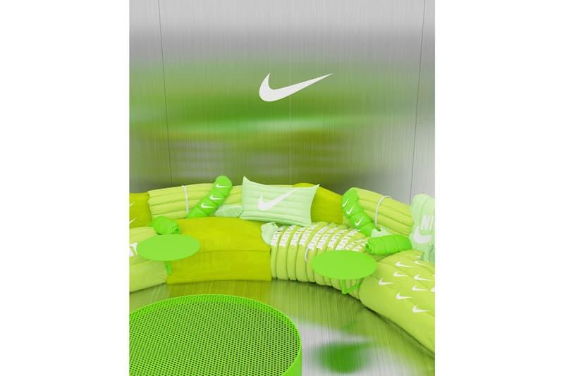 Harry Nuriev 打造 Nike Air Max 主題別注圓形沙發