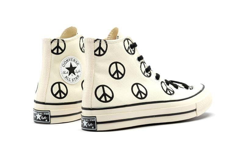 Converse 推出「和平」主題 All Star Chuck 70s 鞋款
