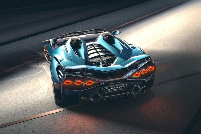 Lamborghini 混能超跑 Sián Roadster 開篷車型正式發佈