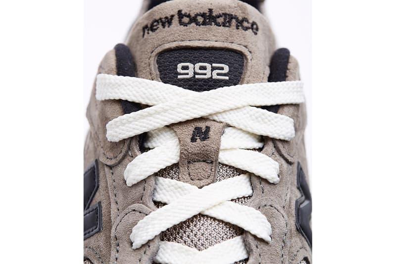 JJJJound x New Balance 聯乘 992 鞋款確認本月推出