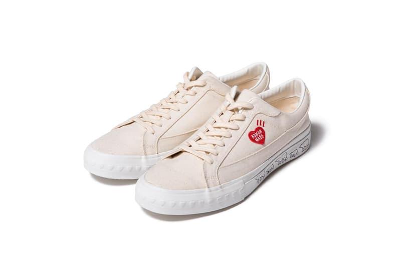 HUMAN MADE 推出全新自家復古帆布鞋系列