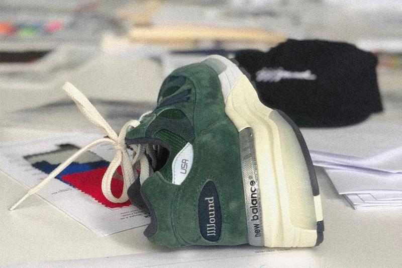 JJJJound 曝光全新 New Balance 992 聯乘鞋款新配色