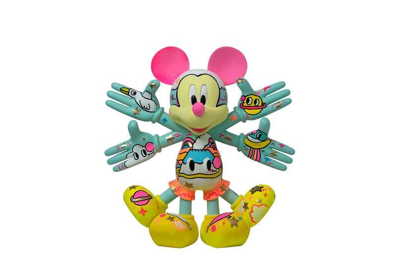 K11 MUSEA 舉行期間限定「Snow Angel Mickey」慈善競投