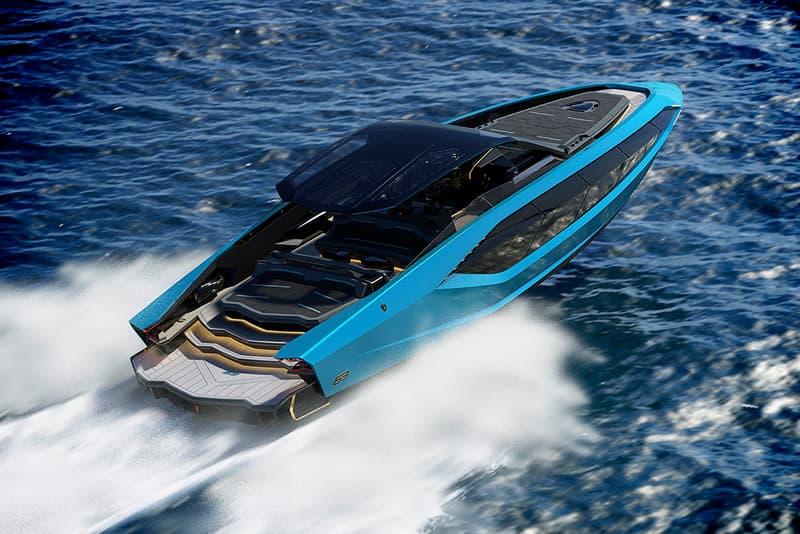 Lamborghini 發表全新 4,000 匹馬力極速快艇