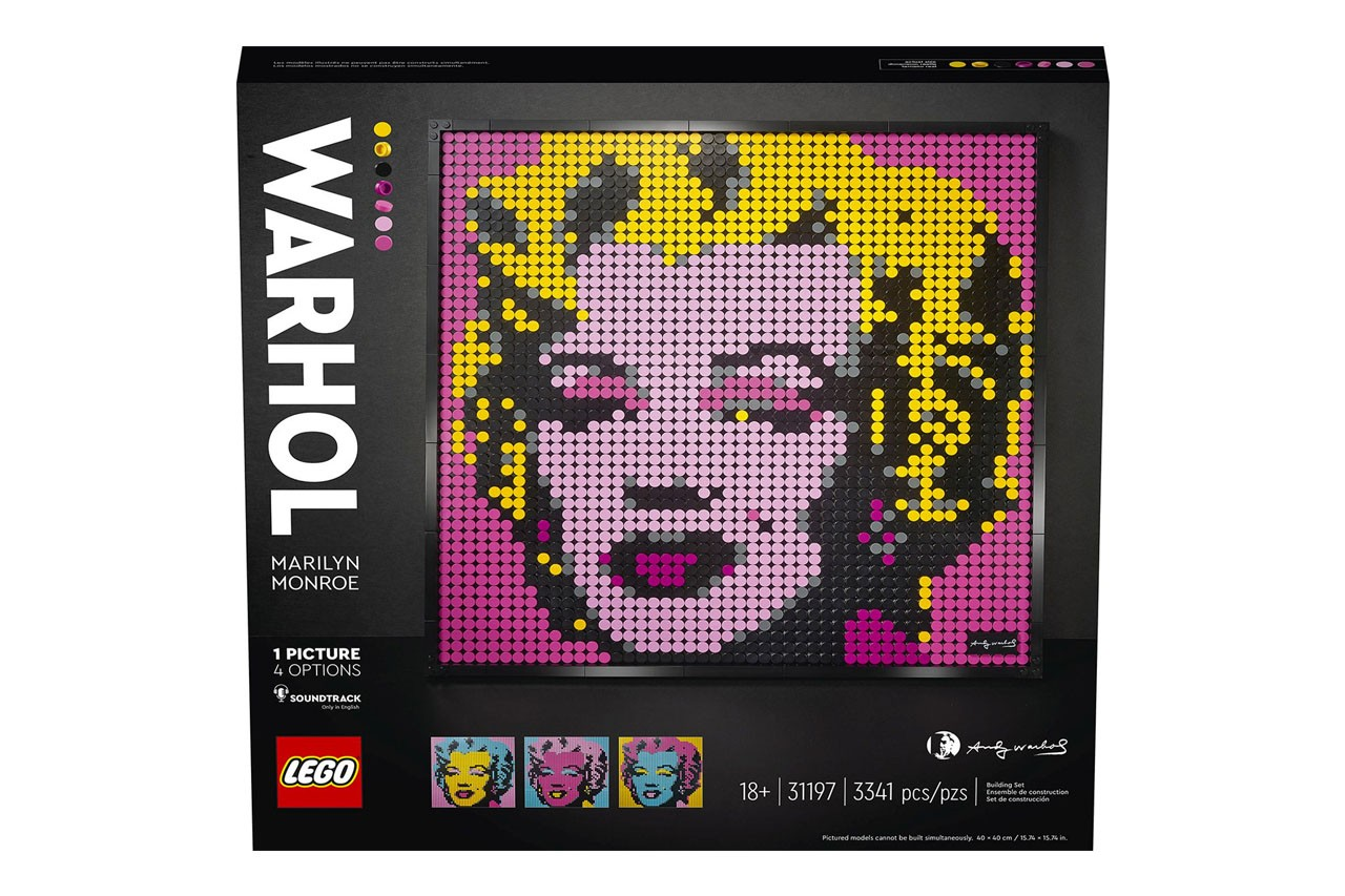 LEGO 推出全新馬賽克海報系列積木組合