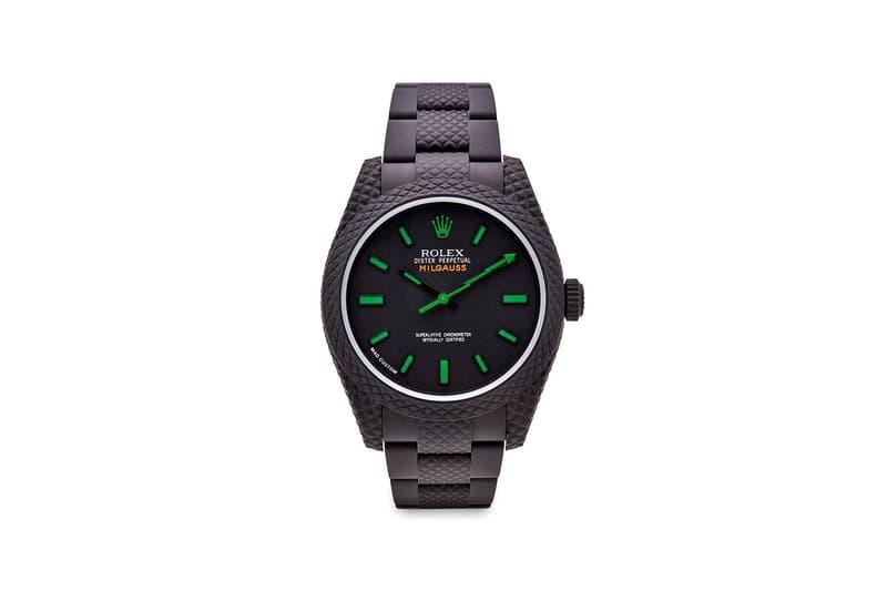 MAD Paris 打造 Rolex Milgauss 和 Datejust 全新定製腕錶