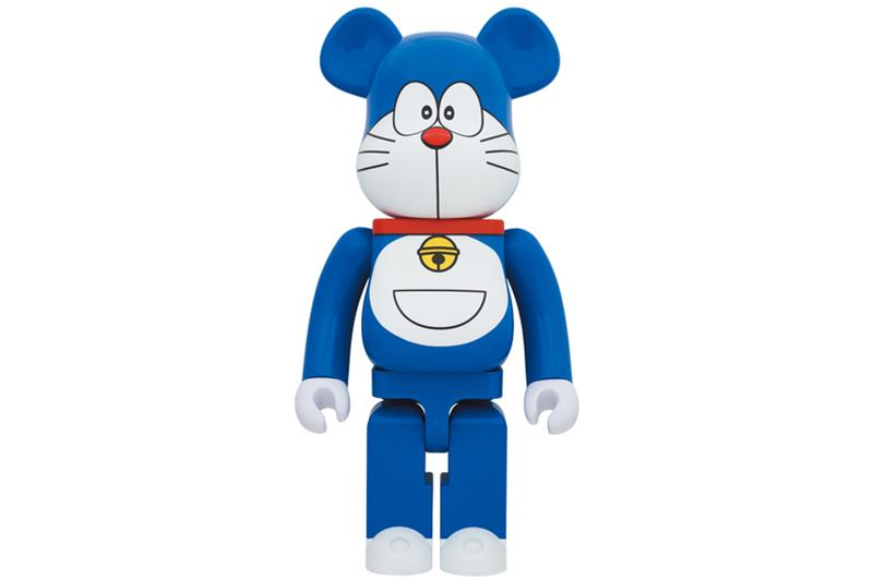 Medicom Toy 推出 Doraemon 50 周年別注 1000% BE@RBRICK 玩偶模型