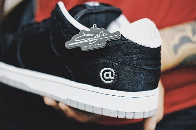 Medicom Toy x Nike SB Dunk Low 全新聯名鞋款高清圖輯曝光