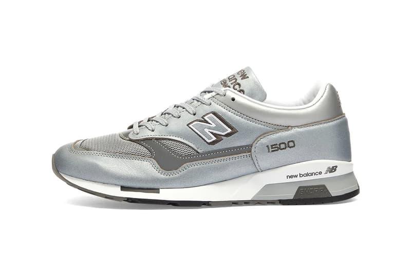 New Balance 全新英製 1500「Metallic Silver」配色發佈