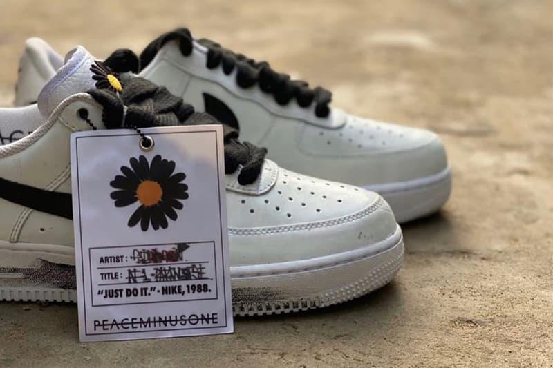 PEACEMINUSONE x Nike Air Force 1 聯乘鞋款全新白色版本曝光