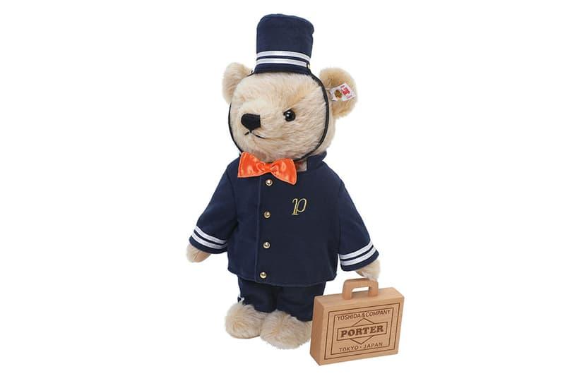 Porter x Steiff 推出 85 周年別注版泰迪熊玩偶