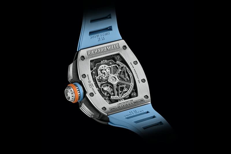 Richard Mille 發表全新 RM 11-05 飛返計時 GMT 自動上鍊腕錶