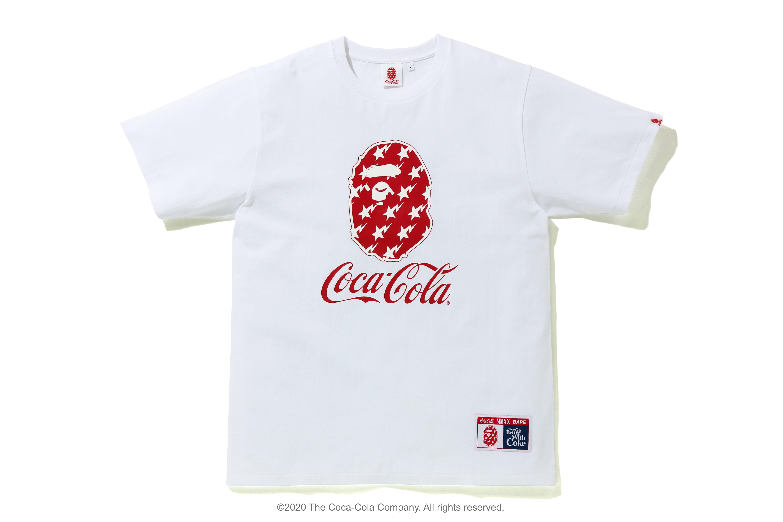 Coca-Cola x BAPE 2020 Capsule Collection The Coca-Cola Company pop soda syrup A Bathing Ape Summer shorts streetwear hypebeast