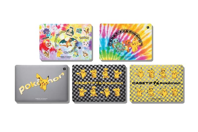 Pokémon & CASETiFY 全新 2020 聯乘懷舊系列發佈