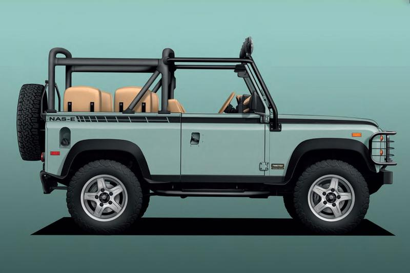 Twisted Automotive 打造全電能化 Land Rover Defender 90 改裝車款