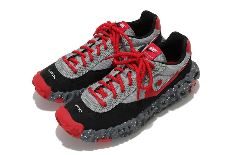 UNDERCOVER x Nike ISPA Overreact 最新聯名鞋款正式曝光