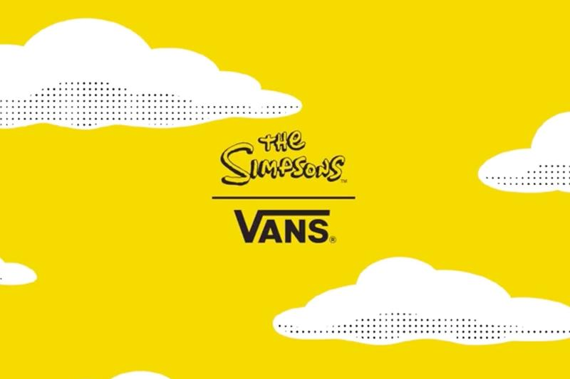 Vans 預告全新《The Simpsons》聯乘作