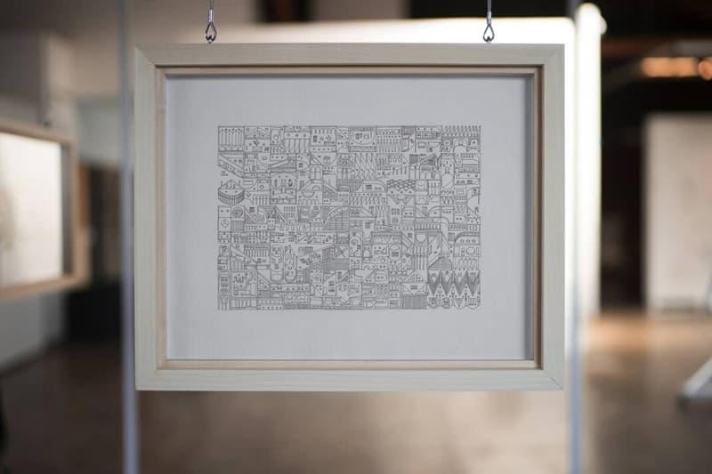 Virgil Abloh 親自繪製之 IKEA x Off-White™ 木椅現正以 $1 美元起標拍賣