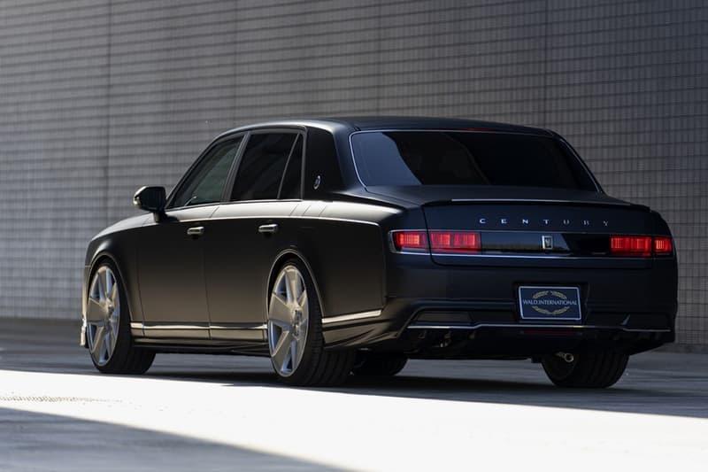 日本車廠 WALD 打造天皇坐駕 Toyota Century 改裝版本