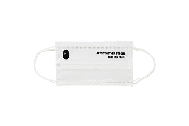 A BATHING APE® 推出全新 ABC NEON CAMO 口罩