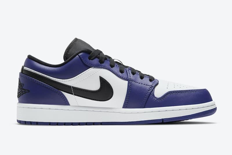 Air Jordan 1 Low 最新配色「Court Purple」官方圖輯正式發佈