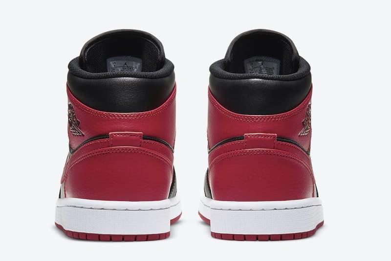 Air Jordan 1 Mid 最新配色「Bred」官方圖輯、發售情報正式公開