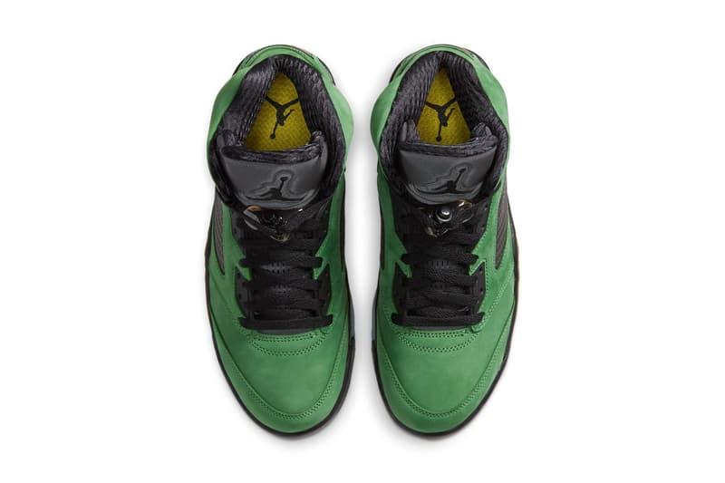 Air Jordan 5 最新配色「Apple Green」官方圖輯、發售情報公開