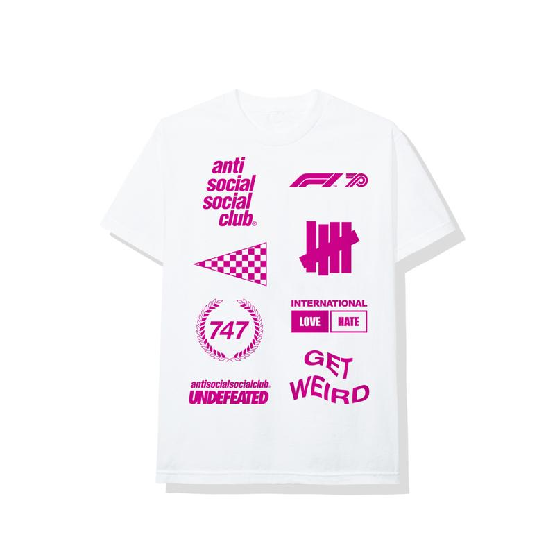 Anti Social Social Club x UNDEFEATED x Formula 1 全新聯乘系列正式發佈