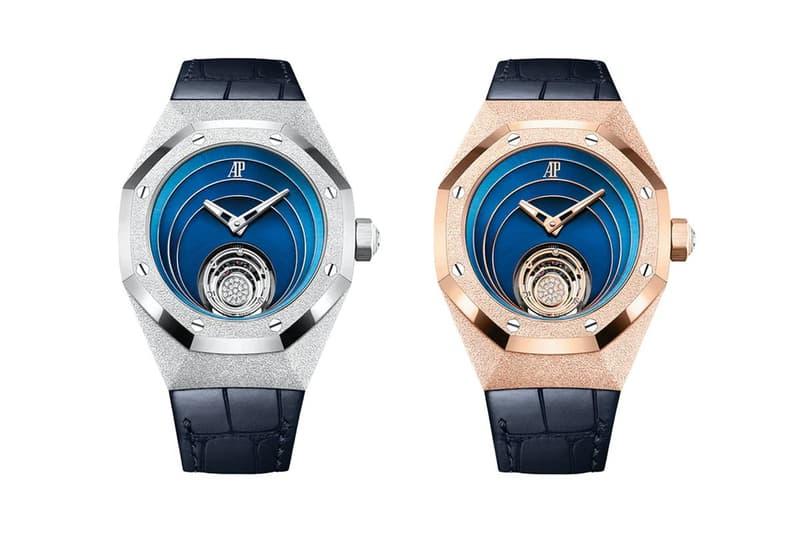 Audemars Piguet 發表全新 Royal Oak Concept Frosted Gold Flying Tourbillon 腕錶