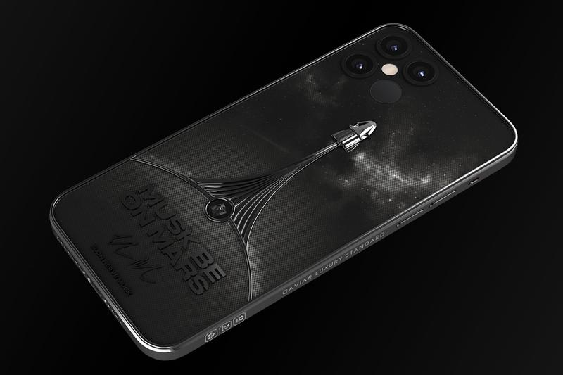 Caviar 搶先開放預購 SpaceX 主題訂製版 iPhone 12 系列