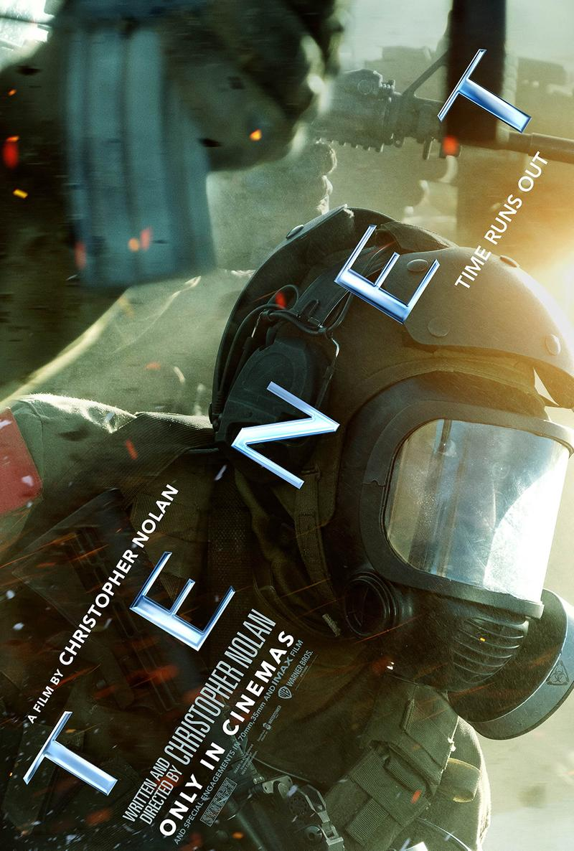 Christopher Nolan 最新科幻電影《天能 Tenet》國際海報正式發佈