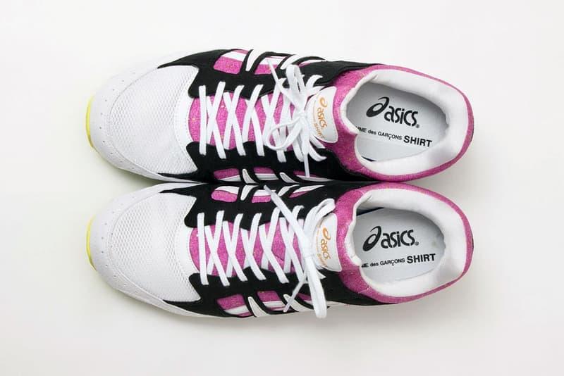 COMME des GARÇONS SHIRT x ASICS 全新聯名鞋款官方圖輯發佈