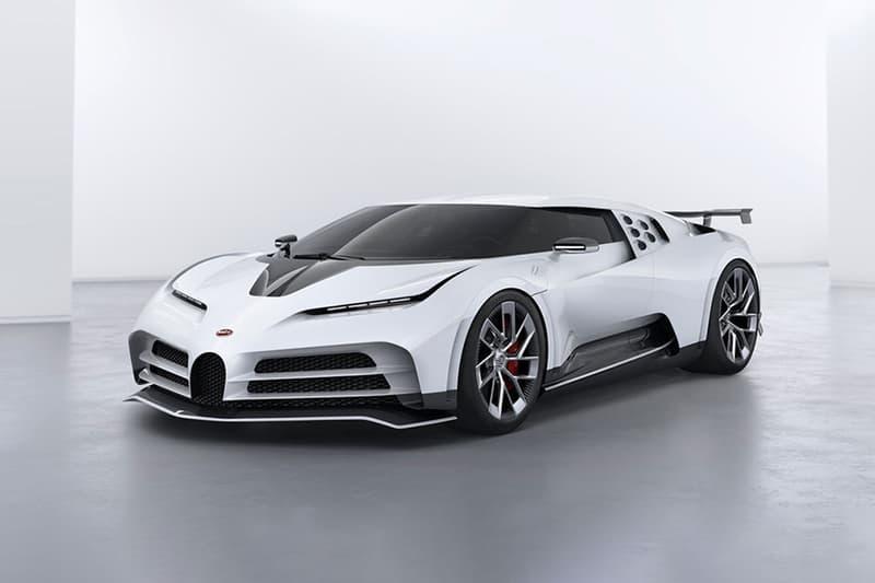 Cristiano Ronaldo 下訂全球極限量 10 輛超跑 Bugatti Centodieci