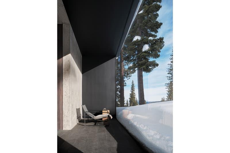 走進座落於火山山腳之別注滑雪屋:Lookout House