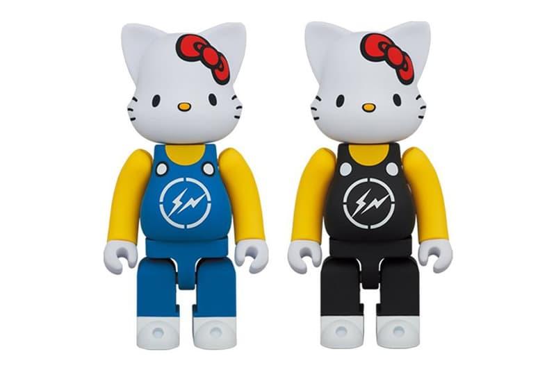 fragment design x Medicom Toy 打造 Hello Kitty、Mickey Mouse 最新聯名 BE@RBRICK